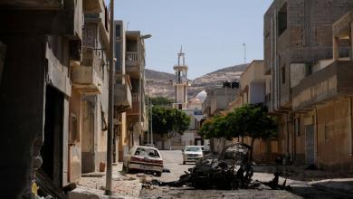 صورة إرهابيو داعش يعلنون مسؤوليتهم عن تفجير درنة