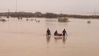 Photo of الأمطار تواصل الهطول على غات