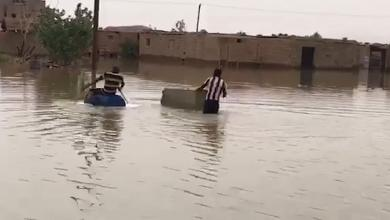 "Photo of ""غرق الشوارع"".. ليبيون يقرعون الجرس مبكرا"