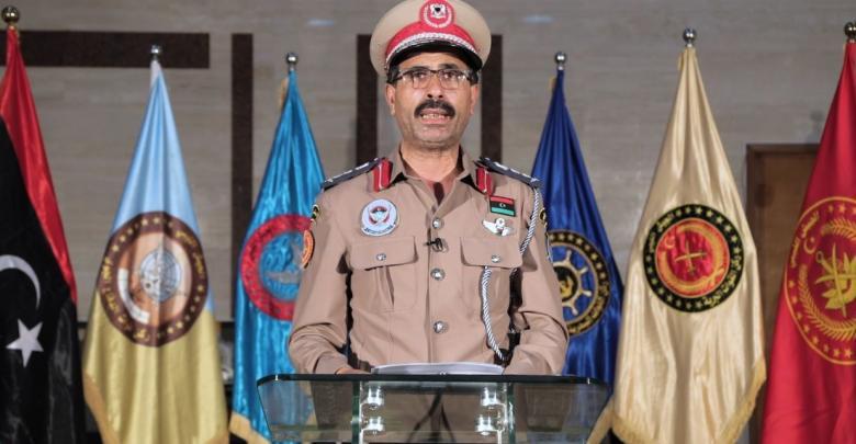 الناطق باسم قوات حكومة الوفاق العقيد محمد قنونو