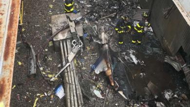 Photo of قتيل بتحطم مروحية فوق برج في مانهاتن