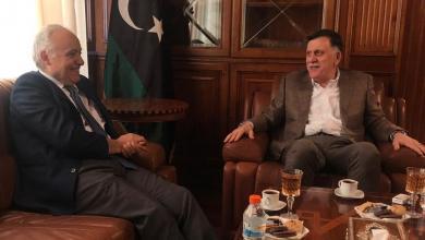 اجتماع رئيس المجلس الرئاسي فائز السراج مع الممثل الخاص للأمين العام في ليبيا غسان سلامة