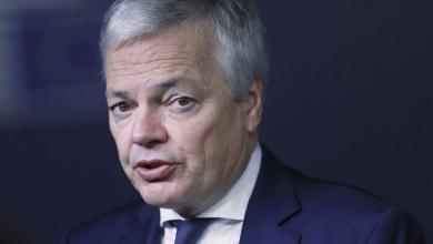 وزير الخارجية البلجيكي ديدييه ريندرز