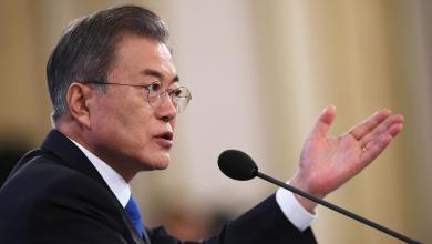 رئيس كوريا الجنوبية مون جاي