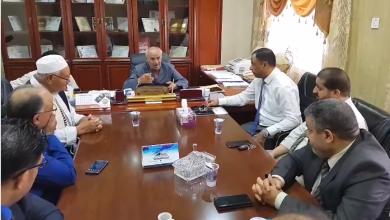 Photo of مناقشة صرف رواتب العاملين بجامعة طبرق