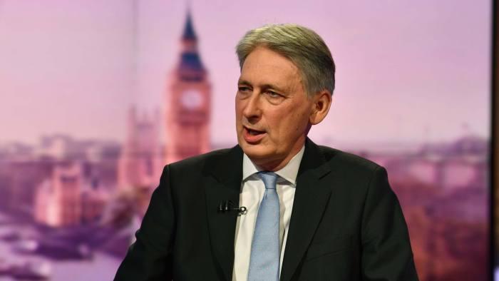 وزير الخزانة البريطاني فيليب هاموند