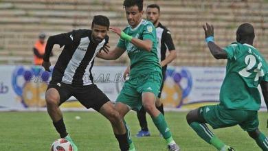 صورة التضامن الكويتي يراقب لاعب المدينة