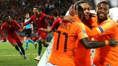 صورة البرتغال وهولندا في نهائي دوري الأمم الأوروبية