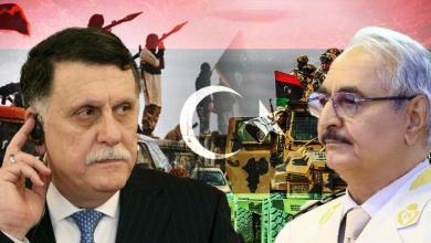 الجيش الوطني - المشير خليفة حفتر - داعش - فائز السراج