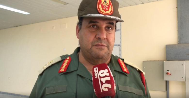 آمر منطقة طبرق العسكرية اللواء هاشم بورقعة