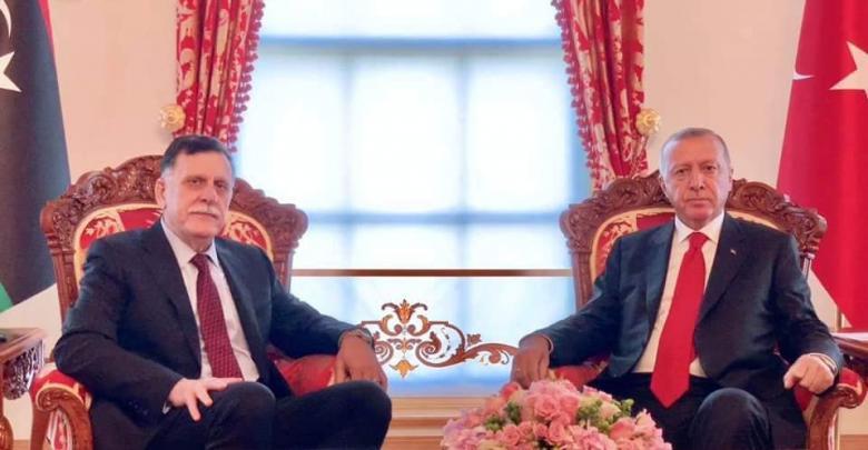 أردوغان - فائز السراج