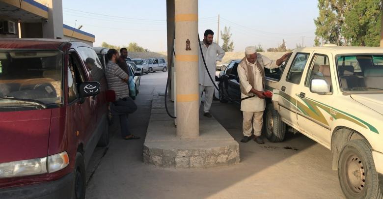 أزمة الوقود - الجميل