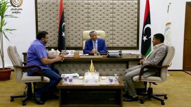 اجتماع عبدالله الثني بديوان مجلس الوزراء - قرنادة