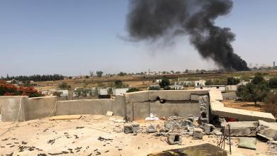 Photo of اشتباكات عنيفة في محور الأحياء البرية