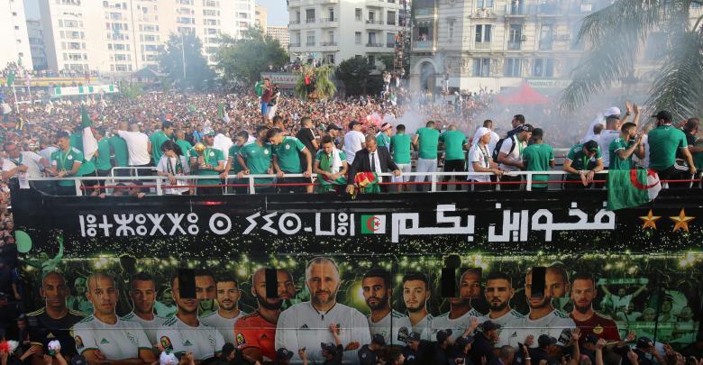 الجزائر تستقبل محاربي الصحراء