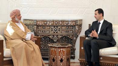 """Photo of الأسد وبن علوي يبحثان """"التصدي للمؤامرات"""""""