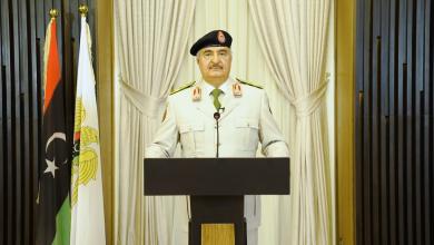 Photo of حفتر: سنرفع راية النصر في قلب طرابلس قريبا