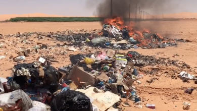 Photo of إتلاف سلع منتهية الصلاحية في وادي الحياة