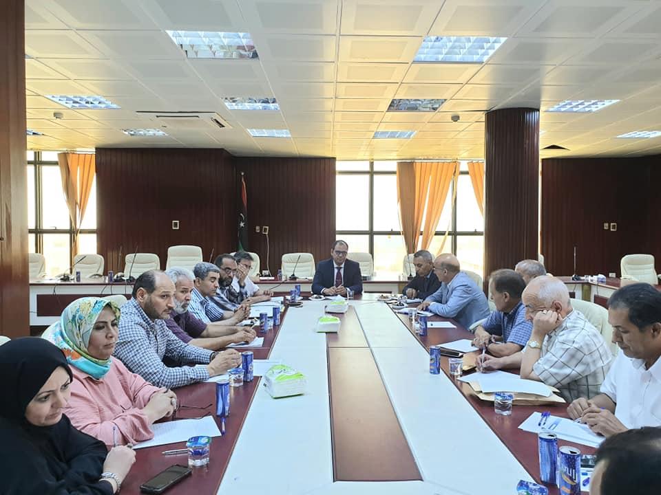 تعليم الوفاق تتابع سير امتحانات التعليم الأساسي