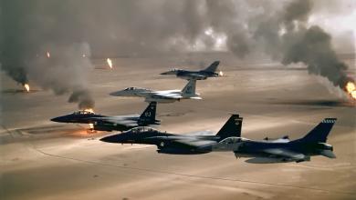 حرب الخليج الثانية - أرشيفية