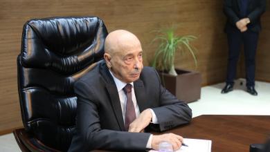 Photo of عقيلة صالح يستقبل وفدا من قبيلة العواقير