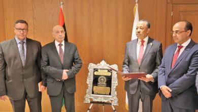 زيار رئيس مجلس النواب المستشار عقيلة صالح بلدية بنغازي