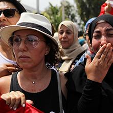 "Photo of بكاء التونسيين .. "" الفَقْد المُر"""