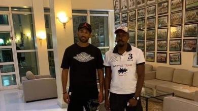 لاعبا المنتخب الوطني للتجديف عبد السلام محمد وحسين قنبور