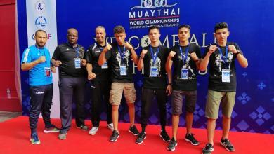 ليبيا حاضرة في بطولة العالم للمواي تاي