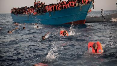Photo of غرق 155 مهاجرا بعد تحطّم قاربهم على سواحل ليبيا