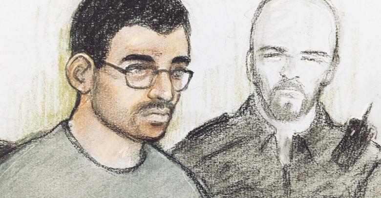 هاشم العبيدي أثناء محاكمته - BBC