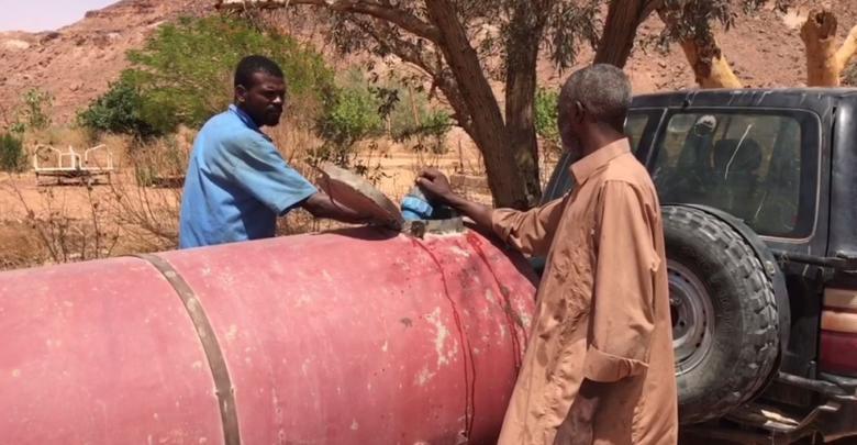 أزمة المياه الصالحة للشرب في بلدة ابريك الواقعة في وادي الحياة