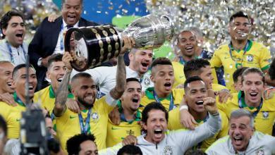 """Photo of """"السليساو"""" يقبض على كأس أميركا الجنوبية للمرة التاسعة"""