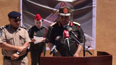 حفل افتتاح مقر قيادة منطقة طبرق العسكرية