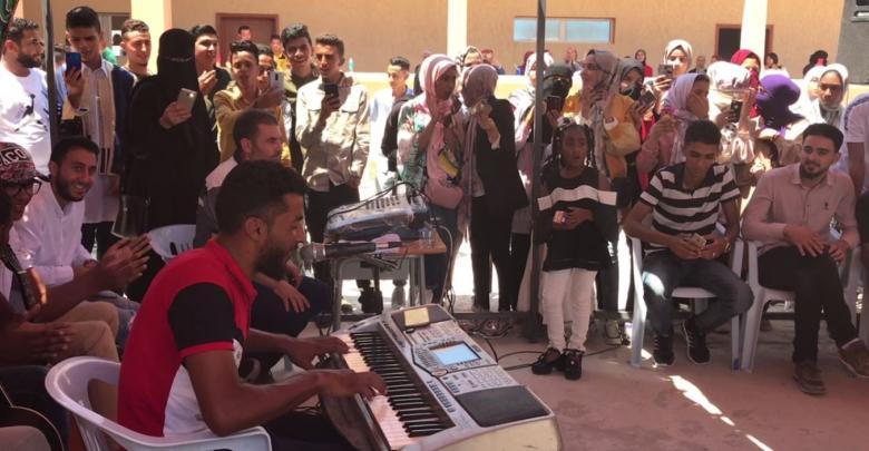 احتفالية اليوم المفتوح في مدينة صبراتة بالمعهد العالي للتقنيات الطبية