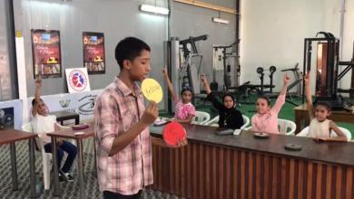 نادي غدامس للكرة الحديدية ينظم دورة لتعليم الأطفال اللغة الانجليزية