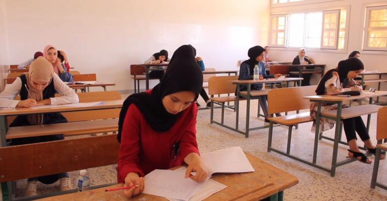 انطلاق امتحانات الشهادة الإعدادية في مدينة بني وليد