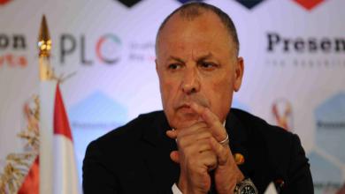 هاني أبو ريدة رئيس الإتحاد المصري لكرة القدم يعلن استقالته من الرئاسة