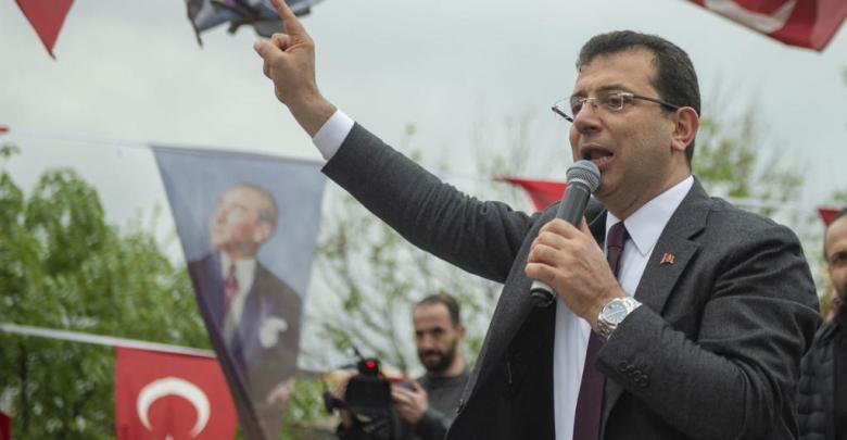 المعارض التركي أكرم إمام أوغلو-عميد بلدية أسطنبول