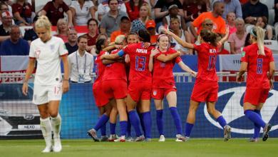 Photo of أمريكا تتجاوز إنجلترا وتتأهل لنهائي مونديال السيدات