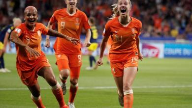 Photo of هولندا تتأهل لنهائي مونديال السيدات على حساب السويد