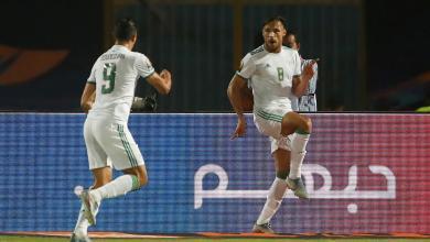 صورة الجزائر تتأهل للربع النهائي بثلاثية في شباك غينيا