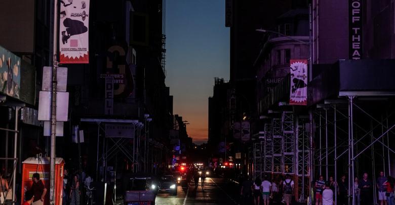 """بالصور.. حكاية """"هروب الضي"""" في نيويورك"""