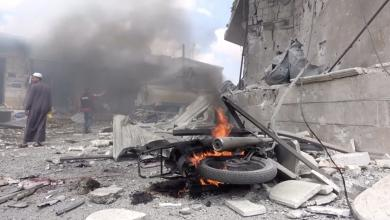 """صورة التلفزيون السوري:""""هجوم إسرائيلي على جنوب البلاد"""""""