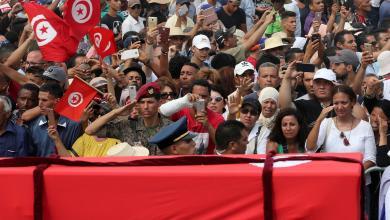 يوم حزين على تونس لرحيل الرئيس الباجي قايد السبسي