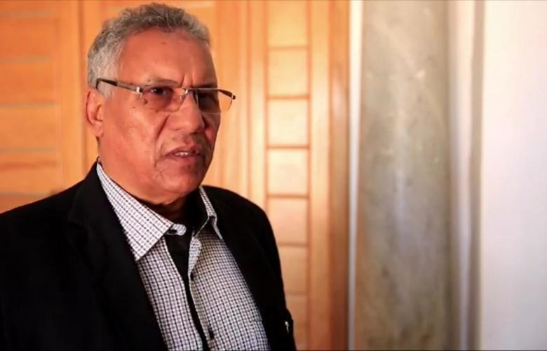 عميد بلدية سبها حامد رافع الخيالي