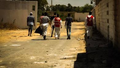 صورة الهلال الأحمر يواصل أعماله الإنسانية في طرابلس
