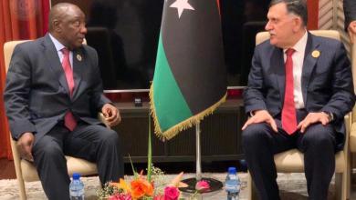 Photo of الأزمة الليبية تجمع السراج بزعماء أفارقة