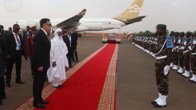 استقبال رسمي للسراج في نيامي عاصمة النيجر
