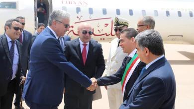 صورة باش آغا يصل الجزائر ويلتقي وزير داخليتها